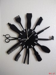 Decorative Barber Wall Clock
