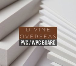 PVC / WPC Board / PVC WPC Foam Board, Size: 8 Feet X 4 Feet
