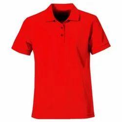 Polyester Half Sleeve Men Collar T Shirt, Size: M-XXL