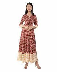 A Line  Frock Dress 2