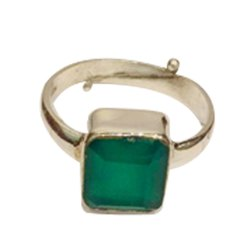 Onyx Ring (Natural)- Square