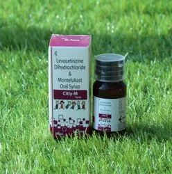 Levocitrazine and Motelukast Dry Syrup