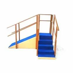 Brown Wooden Staircase
