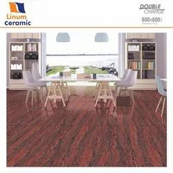 Double Charged Vitrified Tile, Thickness: 9mm, Size: 600x600mm