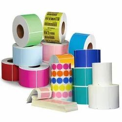 Colored Paper Labels