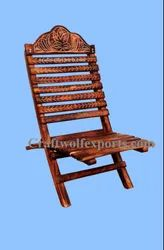 craftwolfexports.com Brown Wood Garden Relax Chair, For home and hotel