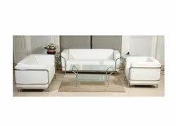 ES-1509 White Office Sofa