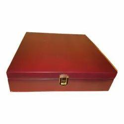 Brown Rectangle Handmade Wooden Box