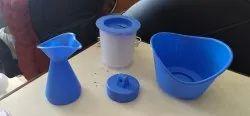 Oceanic Healthcare Plastic Vaporizer Cum Facial Sauna , Capacity: Upto 1 Litre
