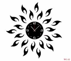 Decorative Acrylic wall clock