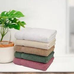 Cotton Plain BATH TOWELS, Rectangle,Square, 450-550 GSM