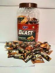 Round Keo Blast Imli Candy, Packaging Type: Plastic Jar