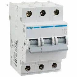 Hager 32A Triple Pole MCB