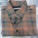 Cotton Checks Mens Fancy Checked Full Sleeve Shirt, Machine Wash, Size: M-xl