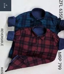 ZFL 6350 Kids Reversible Shirt