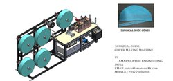 Non Woven Shoe Cover Making Machine By M/S Amarnaathh India