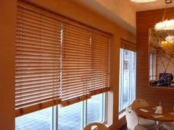 Brown Bass Wooden Blinds, For window covering