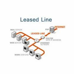 Upto 1 Gbps 3 Months Internet Leased Line Service, Fibre and Wireless LAN