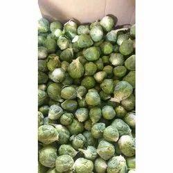 A Grade Tamil Nadu Fresh Brussels Sprouts, Net Bag, 10 Kg
