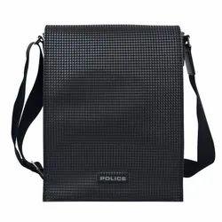 Adjustable PVC Police Shoulder Bag, For Casual Wear