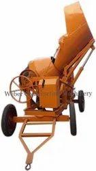 Weber Hydraulic Concrete Mixer Machine
