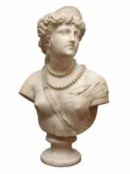 Marble Bust Statue