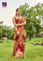 Shangrila Samiksha Georgette Prints With Designer Border Saree Catalog
