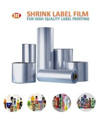 PVC Shrink Film Cast PVC Shrink Film Pet Shrink Film Heat Shrink Film For Label Printing