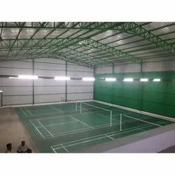 Steel Prefab Badminton Court Roofing Shed