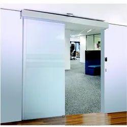 White Dormakaba Automatic Sensor Door