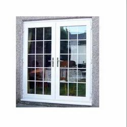LG Hausys White UPVC Mesh Window