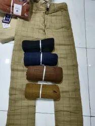 Regular Fit Partywear Mens Cotton Pant