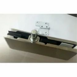 SS Rectangular Wall Fixed Top Patch, For Glass Hardware & Furniture