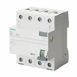 Siemens 40A Four Pole RCCB