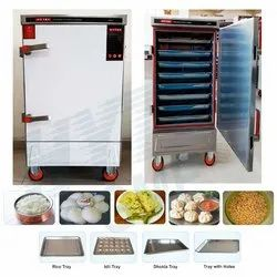 HYTEK GME Stainless Steel Automatic Idli Making Machine, For Commercial Kitchen
