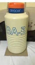 Ba-3 Liquid Nitrogen Container