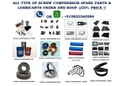 Compatible Spare Parts Of Screw Compressors