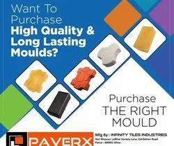 Plastic Paver Block Mold Setup