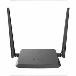 Black D-Link N300 Wireless Router