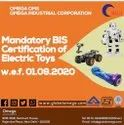 BIS Certification Of Electric Toys