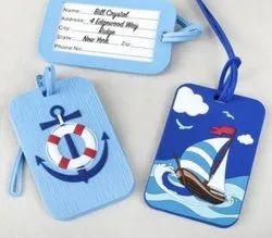 Multicolor printable school bag tag