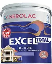 High Gloss White NEROLAC PAINTS, For Exterior, Packaging Size: 20LTR