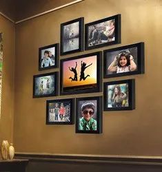 Synthetic Wood Decorative Collage Photo Frame, For Gift Purpose