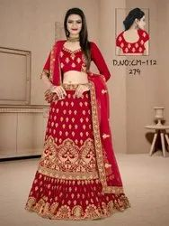 Ethnic Embroidered Bridal Lehengas