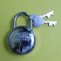 Mard Don Silver 50mm Safety Padlock, Chrome