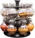 360 Degree Revolving Round Spice Rack