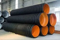 500 Mm Id Hdpe Double Wall Corrugated Sewerage Pipe