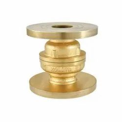 1046 Flanged Bronze Vertical Lift Check Valve