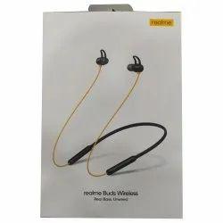 Black Realme Buds Wireless Earphone