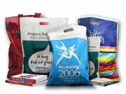 Plastic laminated packaging bag
